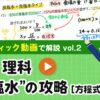 """【中1理科】""""食塩水""""の攻略[方程式演習編]"""